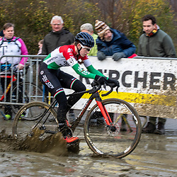 2020-01-01 Cycling: dvv verzekeringen trofee: Baal: Hungarian national champion Kata Blanka Vas