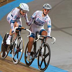 Nederlands Kampioenschap Koppelkoers vrouwen Apeldoorn nationale titel voor Amy Pieters en Kelly Markus