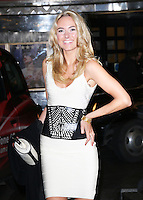 Kimberley Garner, Exhibition of exclusive photographs of Kate Moss at The Savoy, London UK, 30 January 2014, Photo by Richard Goldschmidt