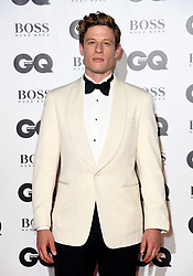 James Norton attending the GQ Men of the Year Awards 2018 at the Tate Modern, London. Picture credit should read: Doug Peters/Empics