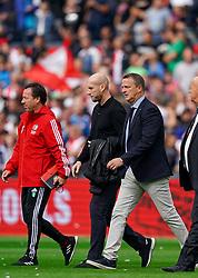 18-08-2019 NED: Feyenoord - FC Utrecht, Rotterdam Round 3 / Assistent-trainer Jean-Paul van Gastel of Feyenoord, Coach Jaap Stam of Feyenoord, Coach John van de Brom of Utrecht