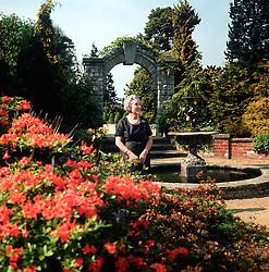 Mrs Rosette Savill photographed at Paddock Wood Finishing School on 1st June 1966.