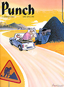 Punch (Front cover, 1 August 1962)