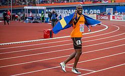 08-07-2016 NED: European Athletics Championships day 3, Amsterdam<br /> Geen goud voor Churandy Martina op de 200 meter, want de sprinter wordt gediskwalificeerd.