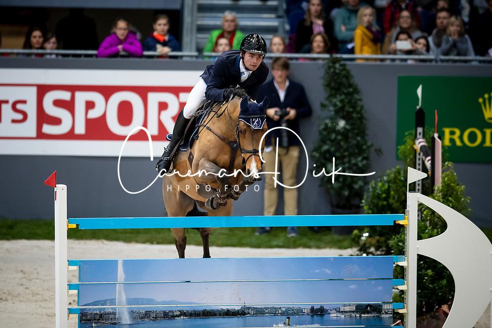 Balsinger Bryan, SUI, Jenkins ter Doorn<br /> CHI Genève 2018<br /> © Hippo Foto - Dirk Caremans<br /> 06/12/2018
