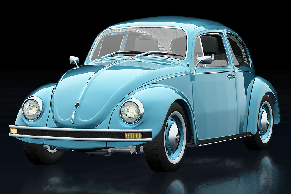 The 1972 Volkswagen Beetle Sedan has been sold all over the world. Ferdinand Porsche did not expect this when he designed his first Volkswagen. This 1972 Volkswagen Beetle Sedan is of course also featured in films, of which the Dolle Beetle is the most famous.<br /> The 1972 Volkswagen Beetle Sedan was for many their first car. Pure nostalgia.<br /> <br /> This painting of a 1972 Volkswagen Beetle Sedan can be printed very large on different materials. -<br /> <br /> BUY THIS PRINT AT<br /> <br /> FINE ART AMERICA<br /> ENGLISH<br /> https://janke.pixels.com/featured/1-volkswagen-beetle-three-quarter-view-jan-keteleer.html<br /> <br /> WADM / OH MY PRINTS<br /> DUTCH / FRENCH / GERMAN<br /> https://www.werkaandemuur.nl/nl/shopwerk/Volkswagen-Kever-Sedan-1972/742441/132?mediumId=11&size=75x50<br /> <br /> -
