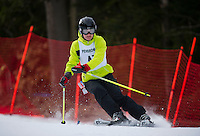 Capital Cup Slalom at Blackwater/Proctor Ski Area on Saturday, February 2, 2013.  (Karen Bobotas/for the Concord Monitor)