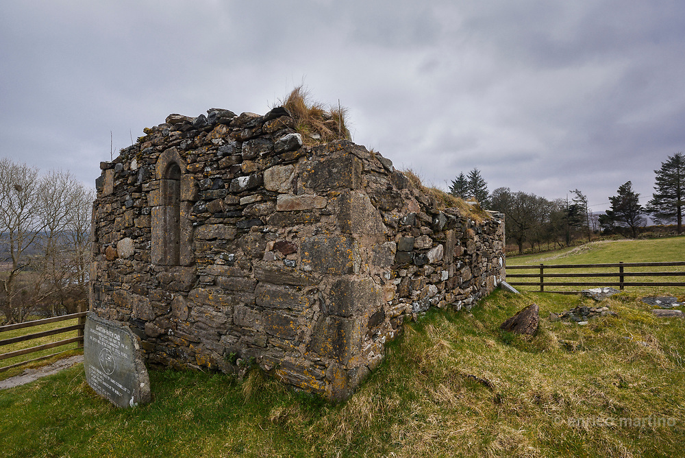 Gartan, It is best known for being the birthplace of Columba, one of the three patron saints of Ireland and one of the most revered saints in the Christian world. Here he founded a monastery in 521. The remains of St. Columba's Church,.
