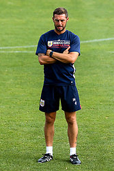 Bristol City assistant head coach Jamie McAllister takes part in a preseason training session in Marbella - Mandatory by-line: Robbie Stephenson/JMP - 19/07/2018 - FOOTBALL - Marbella Football Centre - Marbella, Malaga - Bristol City in Marbella