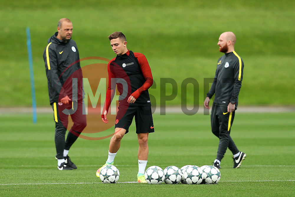 Pablo Maffeo of Manchester City trains - Mandatory by-line: Matt McNulty/JMP - 12/09/2016 - FOOTBALL - Manchester City - Training session ahead of Champions League Group C match against Borussia Monchengladbach