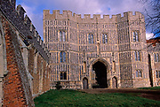 A728J2 St Osyth priory gatehouse Essex England. Image shot 2006. Exact date unknown.