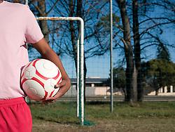 Jul. 26, 2012 - Footballer with a football (Credit Image: © Image Source/ZUMAPRESS.com)