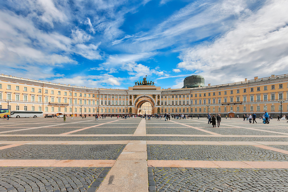 General Staff and Ministries Building, Palace square, Saint Petersburg, St. Petersburg, Russia