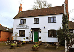 The exterior of the Old Boot Inn in the village of Stanford Dingley west Berkshire, where Kate Middleton and her fiancee of Prince William have visited, and is a short walk away from her family home where her parents Carole and Mike still live.