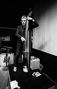 Sting The Police 1980  portrait With electric Bass