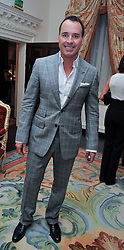 DAVID FURNISH at a party to celebrate the publication of Gosling - Classic Design for Contemporary Interiors by Tim Gosling held at William Kent House, The Ritz Hotel, London on 1st October 2009.