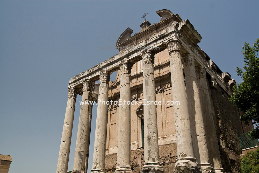 Italy, Rome, Temple of Faustina