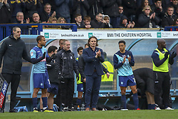 March 9, 2019 - High Wycombe, Buckinghamshire, United Kingdom - Wycmbe's manager Gareth Ainsworth leads the applause for Matt Bloofield as he leaves the pitch during the Sky Bet League 1 match between Wycombe Wanderers and Sunderland at Adams Park, High Wycombe, England  on Saturday 9th March 2019. (Credit Image: © Mi News/NurPhoto via ZUMA Press)