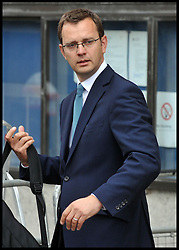 Andy Coulson leaves the Old Bailey for a preliminary hearing as Eight are charged over alleged News of the World phone hacking, London, Wednesday September 26, 2012 Photo Andrew Parsons / i-Images..