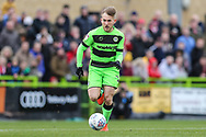 Forest Green Rovers George Williams(11) runs forward during the EFL Sky Bet League 2 match between Forest Green Rovers and Lincoln City at the New Lawn, Forest Green, United Kingdom on 2 March 2019.