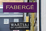 A newly discovered Fabergé Egg on display at jewellers Wartski, who arranged its sale to a private collector.  By some sort of fluke the store happens to be next to the Faberge shop on the same street. It will be on public view for the first time in over 100 years until Thursday, 17th April (11am to 5pm). Grafton Street, London UK, 7th April 2014.