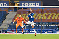Football - 2020 / 2021 League (Carabao) Cup - Round 4 - Everton vs West Ham United - Goodison Park<br /> <br /> Everton's Dominic Calvert-Lewin scores his sides first goal  <br /> <br /> <br /> COLORSPORT/TERRY DONNELLY