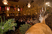 "Wien/Oesterreich, AUT, 28.01.2008: Teilnehmer waehrend dem Jaegerball in der Wiener Hofburg.<br /> <br /> Vienna/Austria, AUT, 28.01.2008: Participants of the Hunters Ball (Jaegerball) at the ""Hofburg"" in Vienna."