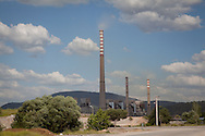 The energy plant in Soma, western Turkey. Three days after the fatal explosion, many workers have yet to be found.