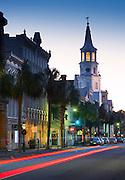 Charleston, South Carolina, Broad Street, Saint Michael's Episcopal Church, Oldest In Charleston, National Historic Landmark, Colonial America