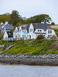 THEMENBILD - ein schottisches Landhaus an der Küste bei Stein, Schottland, aufgenommen am 10.06.2015 // a Scottish country house on the coast near Stein, Scotland on 2015/06/10. EXPA Pictures © 2015, PhotoCredit: EXPA/ JFK