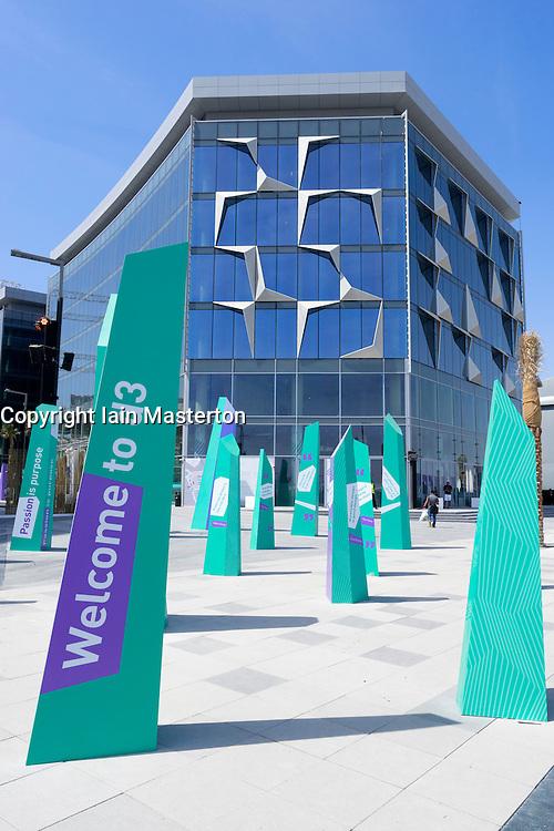 View of new Dubai Design District (d3) in Dubai United Arab Emirates