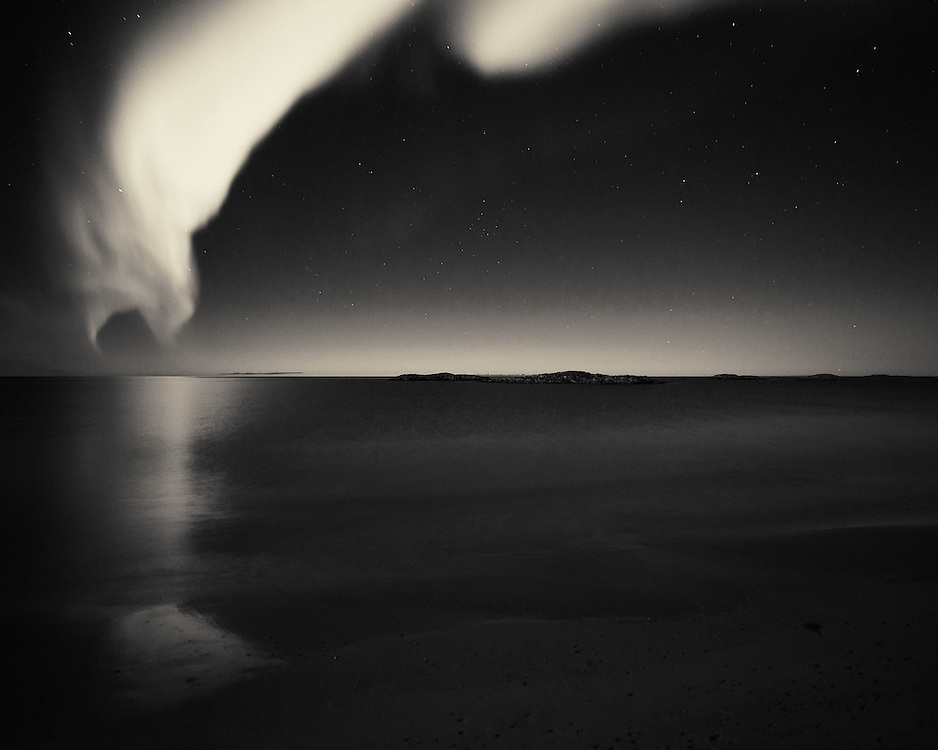 Aurora Borealis shot at Andenes, Lofoten Islands, Norway.