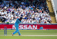 Cricket - 2019 ICC Cricket World Cup - Group Stage: England vs. NZ<br /> <br /> Jonny Bairstow of England Celebrates after hitting for 6 from Tim Southee of New Zealand, at the Riverside, Chester-le-Street, Durham.<br /> <br /> COLORSPORT/BRUCE WHITE