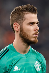 November 7, 2018 - Turin, Italy - David de Gea of Manchester United during the Group H match of the UEFA Champions League between Juventus FC and Manchester United FC on November 7, 2018 at Juventus Stadium in Turin, Italy. (Credit Image: © Mike Kireev/NurPhoto via ZUMA Press)