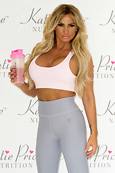 April 25, 2017 - London, London, UK - London, UK. KATIE PRICE launches Nutrition, a range of health product in association with NRGFUEL. (Credit Image: © Ray Tang/London News Pictures via ZUMA Wire)