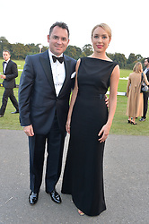 MICHAEL & ANDREA CHADBURN at the Chovgan Twilight Polo Gala in association with the PNN Group held at Ham Polo Club, Petersham Close, Richmond, Surrey on 10th September 2014.