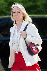 London, UK. 14 May, 2019. Liz Truss MP, Chief Secretary to the Treasury, arrives at 10 Downing Street for a Cabinet meeting.