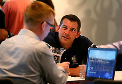London Irish Director of Rugby Nick Kennedy is interviewed at the Aviva Premiership Rugby 2017/18 season launch - Mandatory by-line: Robbie Stephenson/JMP - 24/08/2017 - RUGBY - Twickenham - London, England - Premiership Rugby Launch