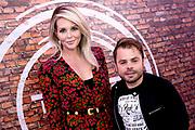 Persdag voor het RTL programma 'The Talent Project'.<br /> <br /> Op de foto:  Roel van Velzen en Chantal Janzen