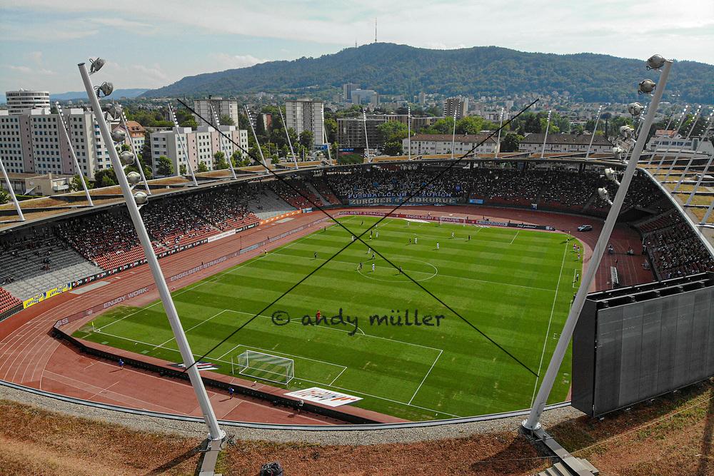 21.07.2019; Zuerich; FUSSBALL SUPER LEAGUE -  FC Zuerich - FC Lugano;<br /> Stadion Letzigrund Uebersicht <br /> (Andy Mueller/freshfocus)