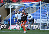 Kieron Freeman of Sheffield Utd frustrated after his shot was saved during the FA Cup Second round match at the Macron Stadium, Bolton. Picture date: December 4th, 2016. Pic Simon Bellis/Sportimage
