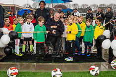 20200202 NED: Opening the new artificial turf pitch Field 3, Maarssen