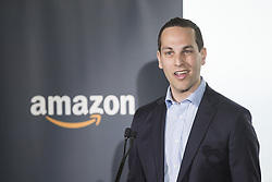 June 20, 2017 - Toronto, ON, Canada - TORONTO, ON - JUNE 20  -  Tamir Bar-Haim, Amazon country manager of advertising, speaks to an audience in Amazon's new Toronto office, the first in Canada.  June 20, 2017. Bernard Weil/Toronto Star Bernard Weil/Toronto Star (Credit Image: © Vince Talotta/The Toronto Star via ZUMA Wire)