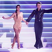 NLD/Hilversum/20120901 - 2de liveshow AVRO Strictly Come Dancing 2012, Danny Froger en danspartner Lorna van Dijk