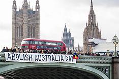 2019-01-25 Anti-Australia Day banner drop