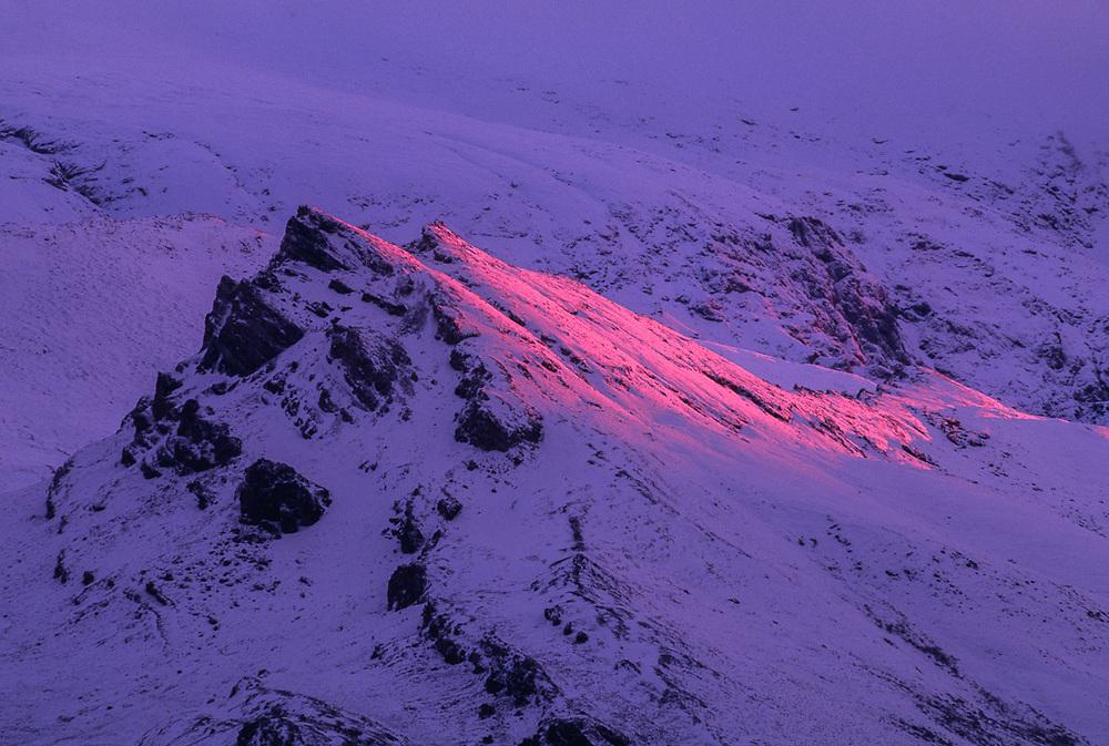 Evening light, Noatak River area, Gates of the Arctic National Park, AK, USA