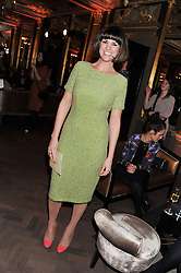 DAWN PORTER at the Baileys Spirited Women party at Cafe Royal Hotel, Regent's Street, London on 21st March 2013.