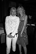 DIANA JENKINS AND MELISSA ODABASH, The Launch of the Cavalli Selection. 17 Berkeley St. London. 29 May 2008.   *** Local Caption *** -DO NOT ARCHIVE-© Copyright Photograph by Dafydd Jones. 248 Clapham Rd. London SW9 0PZ. Tel 0207 820 0771. www.dafjones.com.
