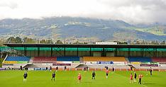 2009-10-13 Wales training Vaduz