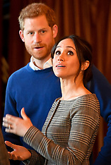 Prince Harry and Meghan Markle visit Cardiff Castle - 19 Jan 2018